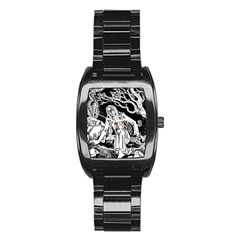 Vampire  Stainless Steel Barrel Watch by Valentinaart