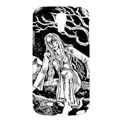 Vampire  Samsung Galaxy S4 I9500/i9505 Hardshell Case by Valentinaart