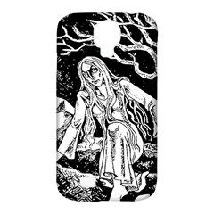 Vampire  Samsung Galaxy S4 Classic Hardshell Case (pc+silicone) by Valentinaart