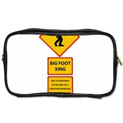 Bigfoot Toiletries Bags 2 Side by Valentinaart