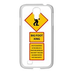 Bigfoot Samsung Galaxy S4 I9500/ I9505 Case (white) by Valentinaart