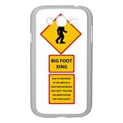 Bigfoot Samsung Galaxy Grand Duos I9082 Case (white) by Valentinaart