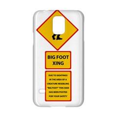Bigfoot Samsung Galaxy S5 Hardshell Case  by Valentinaart