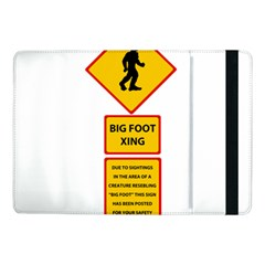 Bigfoot Samsung Galaxy Tab Pro 10 1  Flip Case by Valentinaart