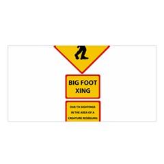Bigfoot Satin Shawl by Valentinaart