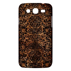 Damask2 Black Marble & Brown Stone (r) Samsung Galaxy Mega 5 8 I9152 Hardshell Case  by trendistuff