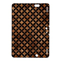 Circles3 Black Marble & Brown Stone (r) Kindle Fire Hdx 8 9  Hardshell Case by trendistuff