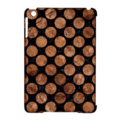 Circles2 Black Marble & Brown Stone Apple Ipad Mini Hardshell Case (compatible With Smart Cover) by trendistuff