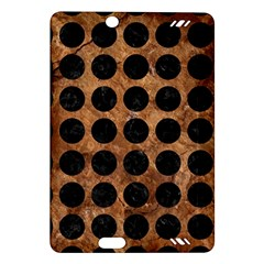 Circles1 Black Marble & Brown Stone (r) Amazon Kindle Fire Hd (2013) Hardshell Case by trendistuff