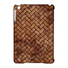 Brick2 Black Marble & Brown Stone (r) Apple Ipad Mini Hardshell Case (compatible With Smart Cover) by trendistuff