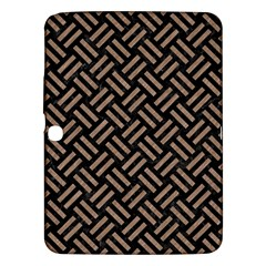 Woven2 Black Marble & Brown Colored Pencil Samsung Galaxy Tab 3 (10 1 ) P5200 Hardshell Case  by trendistuff