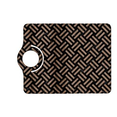 Woven2 Black Marble & Brown Colored Pencil Kindle Fire Hd (2013) Flip 360 Case by trendistuff