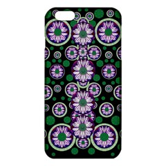 Fantasy Flower Forest  In Peacock Jungle Wood Iphone 6 Plus/6s Plus Tpu Case by pepitasart
