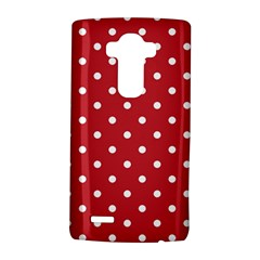 Red Polka Dots Lg G4 Hardshell Case by LokisStuffnMore