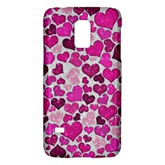 Sparkling Hearts Pink Galaxy S5 Mini by MoreColorsinLife