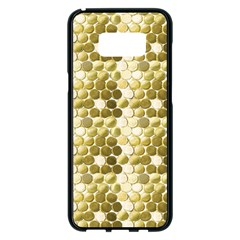 Cleopatras Gold Samsung Galaxy S8 Plus Black Seamless Case by psweetsdesign