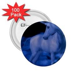 Magical Unicorn 2 25  Buttons (100 Pack)  by KAllan