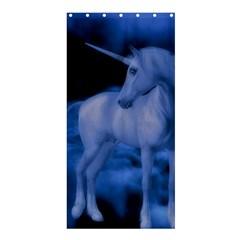 Magical Unicorn Shower Curtain 36  X 72  (stall)  by KAllan