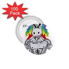Angry Unicorn 1 75  Buttons (100 Pack)  by KAllan