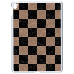 Square1 Black Marble & Brown Colored Pencil Apple Ipad Pro 9 7   White Seamless Case by trendistuff
