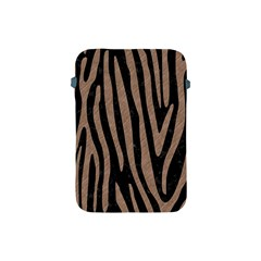 Skin4 Black Marble & Brown Colored Pencil (r) Apple Ipad Mini Protective Soft Case by trendistuff