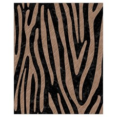Skin4 Black Marble & Brown Colored Pencil (r) Drawstring Bag (small) by trendistuff