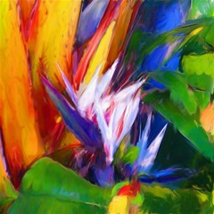 Palms02 Canvas 16  X 16   by psweetsdesign