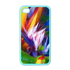 Palms02 Apple Iphone 4 Case (color) by psweetsdesign