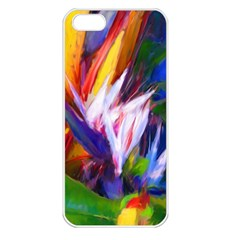 Palms02 Apple Iphone 5 Seamless Case (white) by psweetsdesign