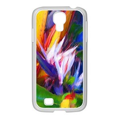 Palms02 Samsung Galaxy S4 I9500/ I9505 Case (white) by psweetsdesign