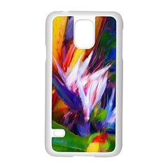 Palms02 Samsung Galaxy S5 Case (white) by psweetsdesign