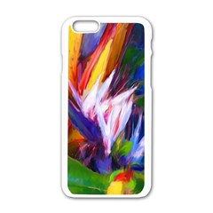 Palms02 Apple Iphone 6/6s White Enamel Case by psweetsdesign