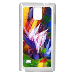 Palms02 Samsung Galaxy Note 4 Case (white) by psweetsdesign
