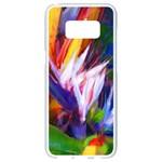 Palms02 Samsung Galaxy S8 White Seamless Case