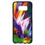 Palms02 Samsung Galaxy S8 Plus Black Seamless Case