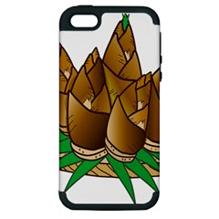 Young Bamboo Apple Iphone 5 Hardshell Case (pc+silicone) by Mariart