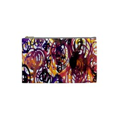 Autumnn Rainbow Cosmetic Bag (small)  by Mariart