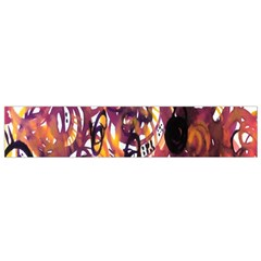Autumnn Rainbow Flano Scarf (small) by Mariart
