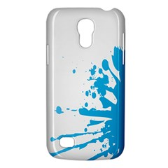 Blue Stain Spot Paint Galaxy S4 Mini by Mariart