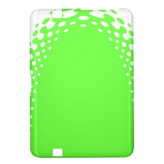 Bubble Polka Circle Green Kindle Fire Hd 8 9  by Mariart