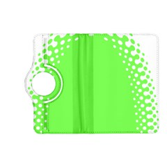 Bubble Polka Circle Green Kindle Fire Hd (2013) Flip 360 Case by Mariart