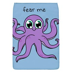 Colorful Cartoon Octopuses Pattern Fear Animals Sea Purple Flap Covers (s)  by Mariart