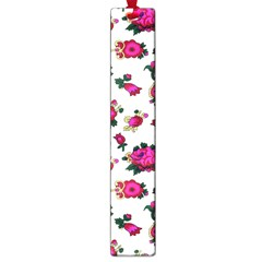 Crown Red Flower Floral Calm Rose Sunflower White Large Book Marks by Mariart