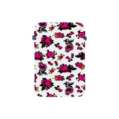 Crown Red Flower Floral Calm Rose Sunflower White Apple Ipad Mini Protective Soft Cases by Mariart