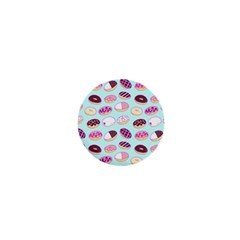 Donut Jelly Bread Sweet 1  Mini Magnets by Mariart
