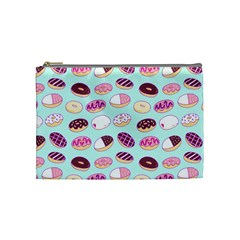 Donut Jelly Bread Sweet Cosmetic Bag (medium)  by Mariart