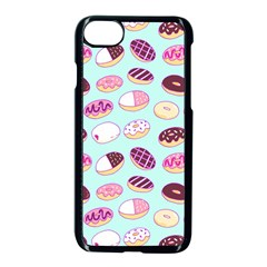 Donut Jelly Bread Sweet Apple Iphone 7 Seamless Case (black) by Mariart