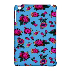 Crown Red Flower Floral Calm Rose Sunflower Apple Ipad Mini Hardshell Case (compatible With Smart Cover) by Mariart