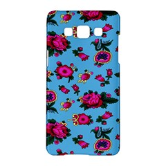 Crown Red Flower Floral Calm Rose Sunflower Samsung Galaxy A5 Hardshell Case  by Mariart