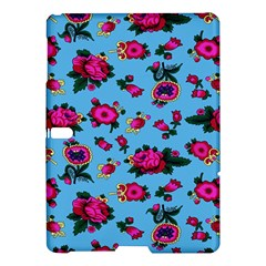 Crown Red Flower Floral Calm Rose Sunflower Samsung Galaxy Tab S (10 5 ) Hardshell Case  by Mariart